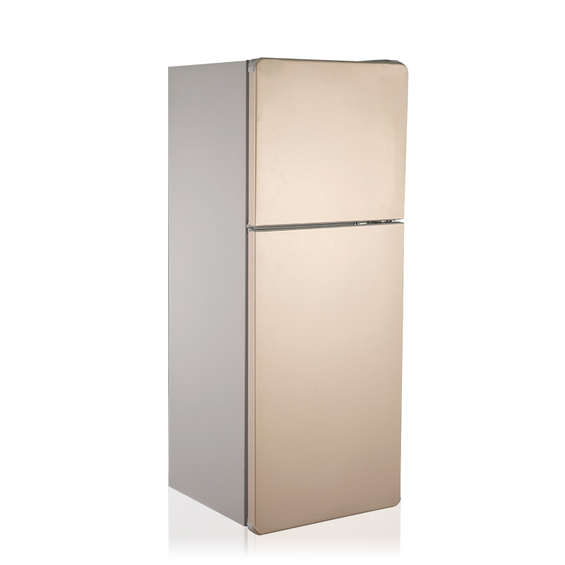GOLD BCD-90 DOUBLE D00R MINI REFRIGERATOR