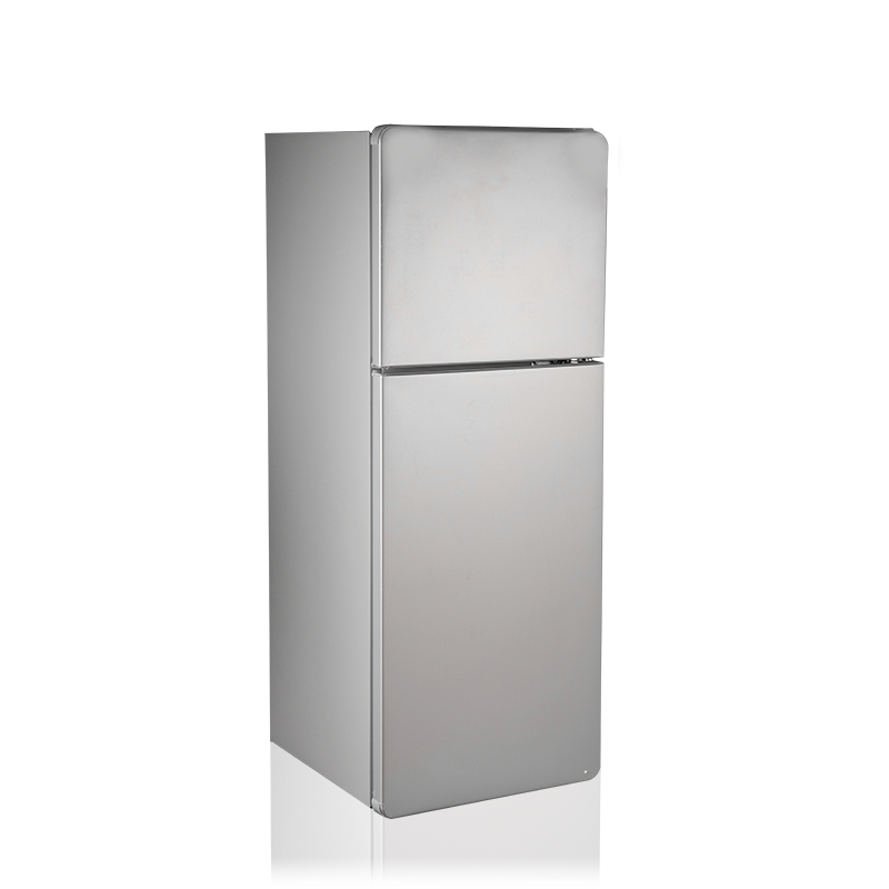 SILVER BCD-90 DOUBLE DOOR MINI REF RIGERATOR