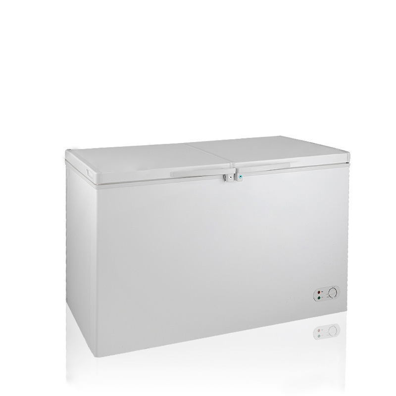BERING BD/BC-352DQ 350L Top open Chest Freezer double doors big capacity chest freezers