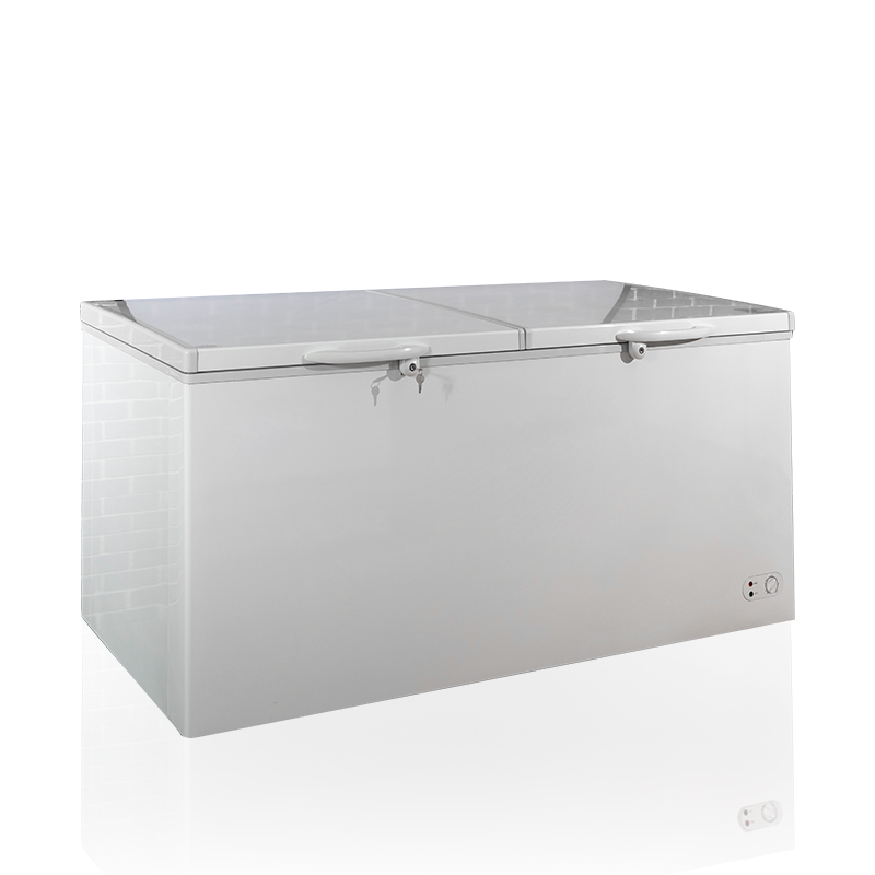 BERING BD/BC-750Q 750L Top open Door Deep Freezer double door big capacity Chest Freezer
