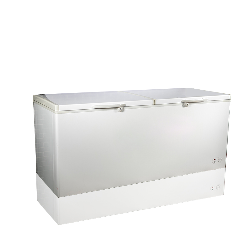 BERING BD/BC-818Q 800L Top open Deep Freezer double door big capacity Chest Freezer