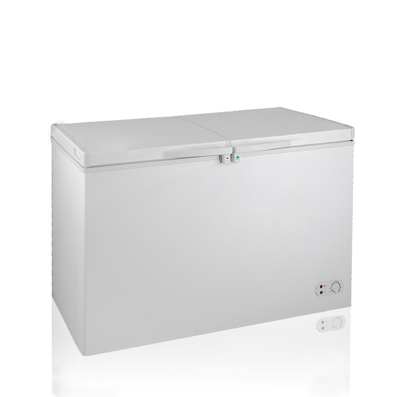 BERING BD/BC-422DQ 422L Chest Freezer Top open Double Doors