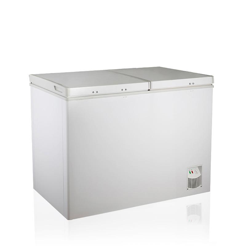 KCD-215Q 215L Top Open Door Chest Freezer Double Door